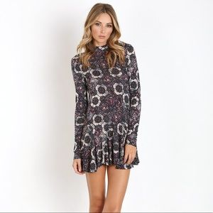 Free People Jersey Annabelle Printed Tunic Dress